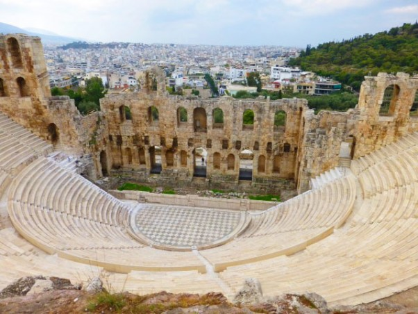 Explore Greece - Odeon of Herodes Atticus